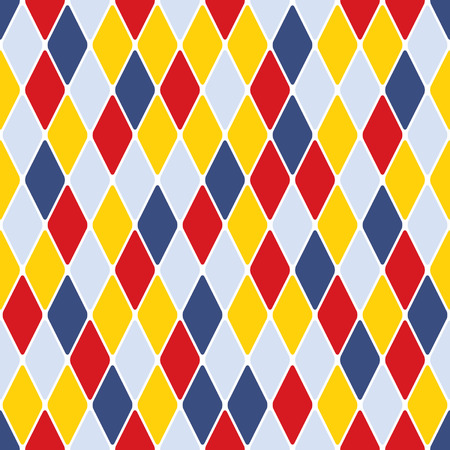 할리퀸 parti-coloured 원활한 패턴 3.1