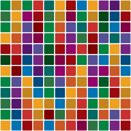 polychromatic: Polychromatic mosaic Illustration