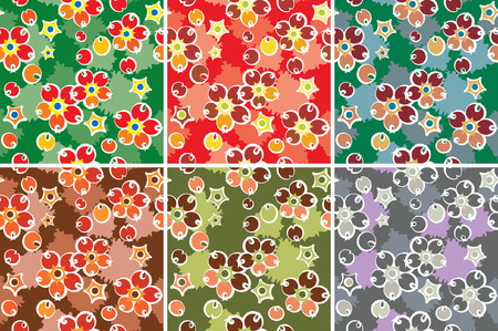 jointless: Barberry pattern set Illustration