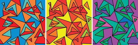 cubismo: Fragmentos de la abstracci�n, el cubismo y el arte pop (patr�n transparente set # 3)