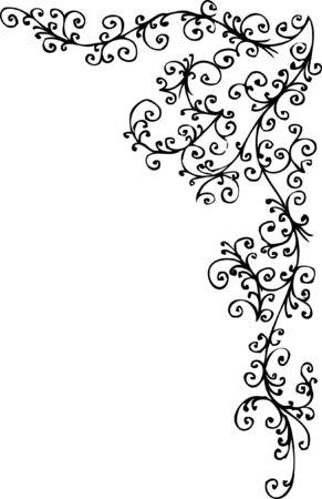 바로크 냉동 패턴 비 네트입니다. 오 포 르 테 036.