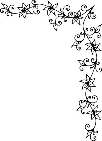 vignette: Refined Floral vignette CCCXCIX
