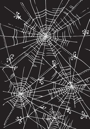 blackandwhite: Web background 314 Eau-forte black-and-white decorative vector illustration