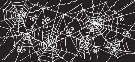 Web background 316 Eau-forte black-and-white decorative vector illustration Vector