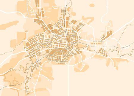 guia turistica: Mapa del vector de la ciudad. Fondo decorativo ilustraci�n vectorial EPS-8.