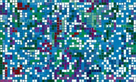 polychromatic: Ultramarine Smalt Mosaic. Blue bright decorative background
