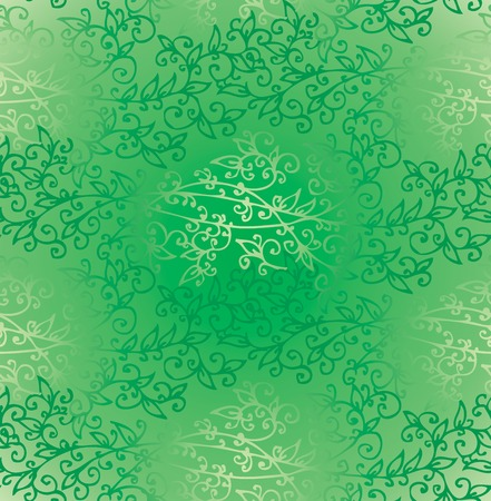 verdure: Floral Green Verdure Springtime Seamless Pattern texture background