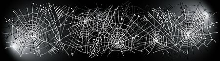 Halloween web background 327. Eau-forte black-and-white decorative texture  illustration.