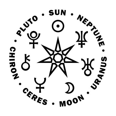 El sepulturero de la Nueva Era. La Estrella de los Magos de la Nueva Era. Siete planetas superiores de Astrología.
