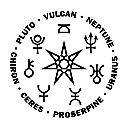 «Septener» of New Age. The Star of Magicians of The New Age XXI. Seven supreme planets of Astrology.