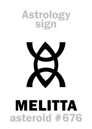 Astrology Alphabet: MELITTA (Melissa)