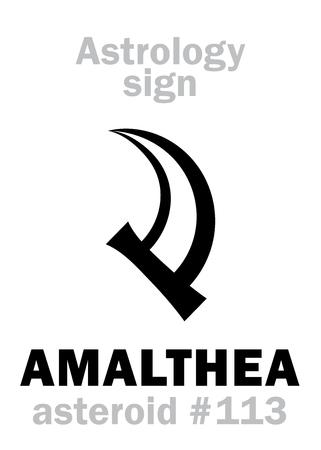 Astrology Alphabet: AMALTHEA.