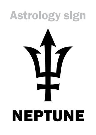Planet neptune sign.