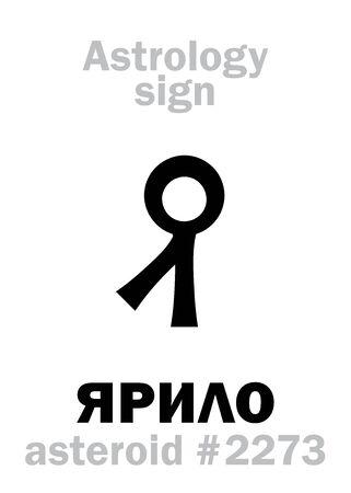 Astrology Alphabet icon