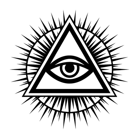 All-Seeing Eye of God (The Eye of Providence) Eye of Omniscience.