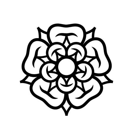 Rose illustration. Stok Fotoğraf - 91074090