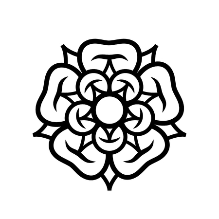Rose illustration.