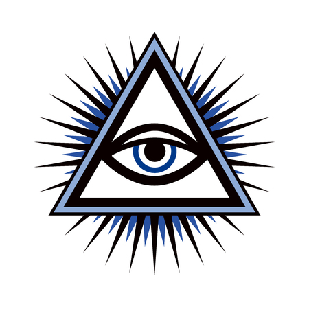 All-Seeing Eye of God (The Eye of Providence | Eye of Omniscience | Luminous Delta | Oculus Dei).