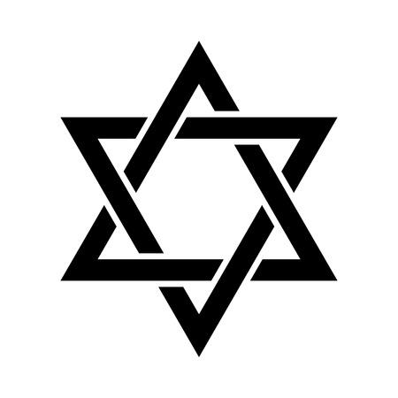 Star symbol icon design. Illustration