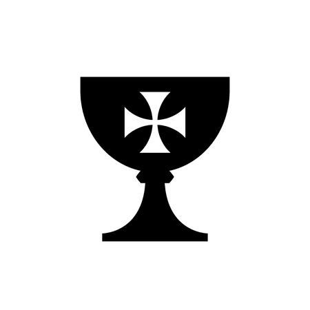 The Holy Grail (cup) — medieval mystical symbol, the source of life and immortality, abundance and fertility,