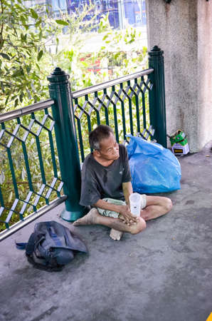 plead: Begging on the streets of Thailand
