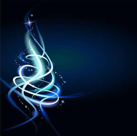 Mogelijk om kerstkaarten, achtergronden, ornamenten te creëren. Vector Illustratie