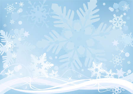 Beautiful winter snow background for banners, backgrounds, presentations, decorations.