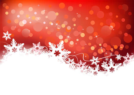 Beautiful winter snow background for banners, backgrounds, presentations, decorations. Vector