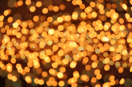 holiday lights display: background with lots of light spots