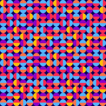 Seamless retro pattern. Vector