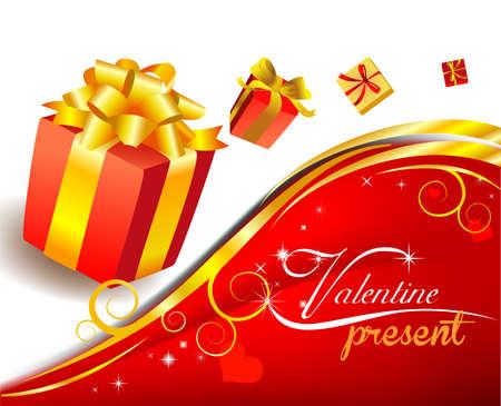 surprise box: Valentines present