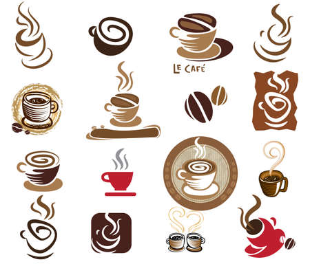 to go cup: Coffee and Tea design elements.