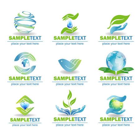 Eco Design Elements, Ilustração