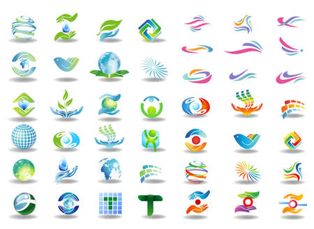 water logo: Design elements