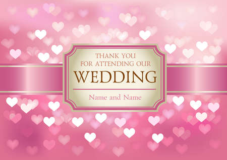 light pink: Wedding invitation