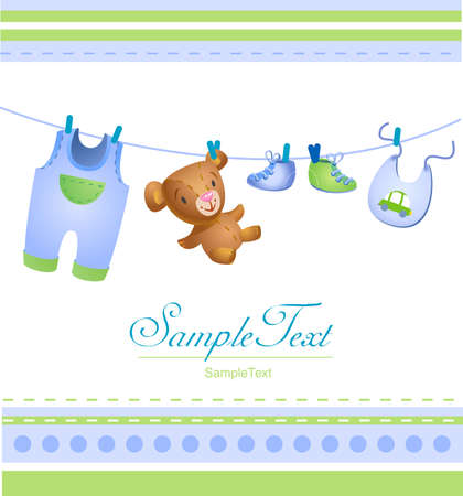 arrival: Baby arrival card