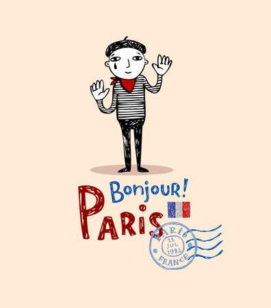 monumental: Paris post card