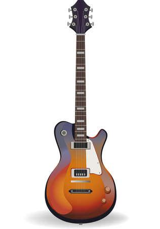 rosewood: Vector guitar