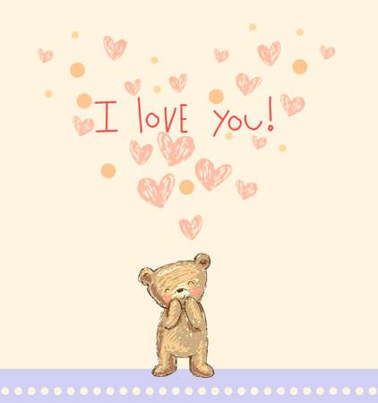 enamorados caricatura: Te quiero