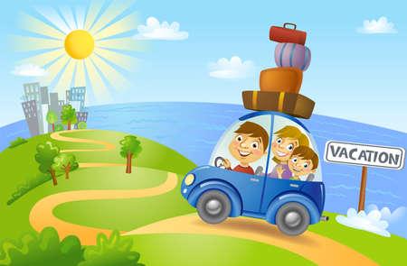 papa y mama: La forma de las vacaciones