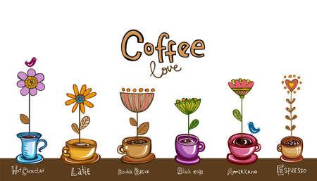 カフェのメニューの表紙やカードとして使用することがあります図。