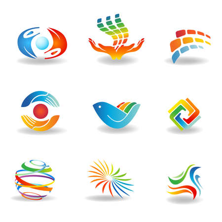 manos logo: Los elementos de diseño