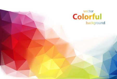Modern colorful vector background