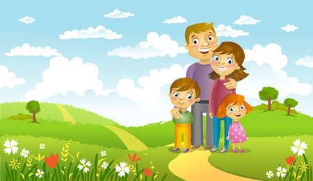 dad son: Happy family