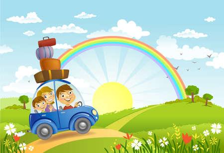 Family summer adventure