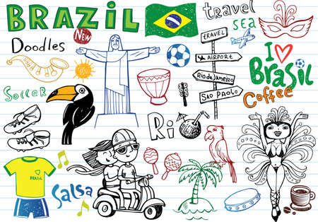 Symbols of Brazil, Illustration