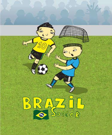 brazilian: Brazilian soccer