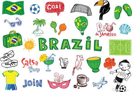 brasil: Symbols of Brazil