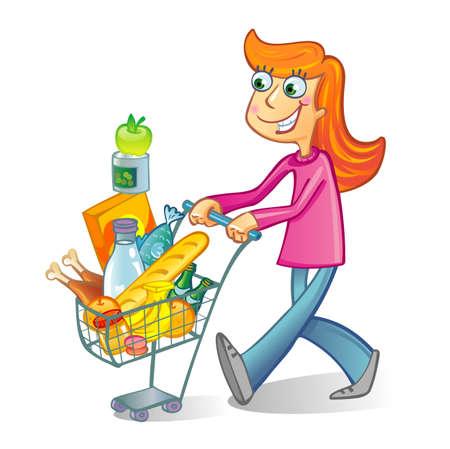 sales floor: Shopping