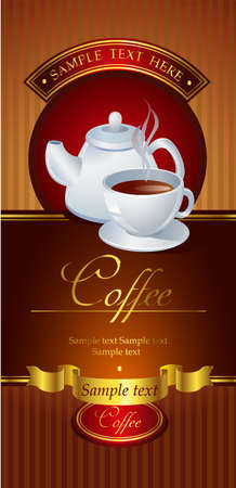 blends: Coffee vector banner